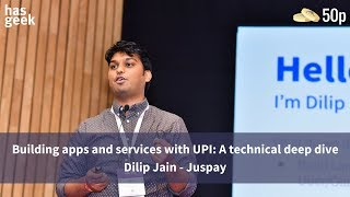 Building apps and services with UPI: A technical deep dive
