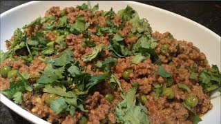 How To Make Keema Matar
