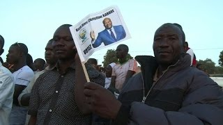 Kabore supporters celebrate his victory in Burkina Faso poll