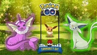EEVEE GETS LAST RESORT FOR COMMUNITY DAY IN POKEMON GO! SPECIAL MOVE FOR EEVEE IS LAST RESORT!