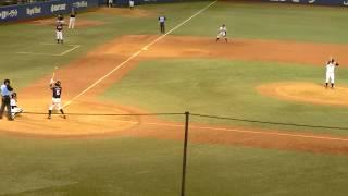侍ジャパン壮行試合 高校日本代表 根尾昂 第二打席 センターオーバー3塁打