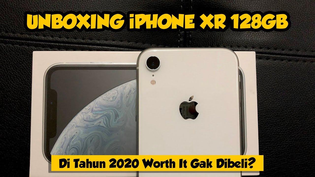 UnBoxing iPhone XR 128 GB Putih Resmi Indonesia di 2020, worth it?