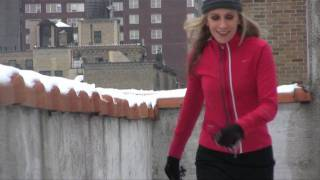 Corrie Cooper - Let it Snow...on the rooftop!  (tap improvisation)