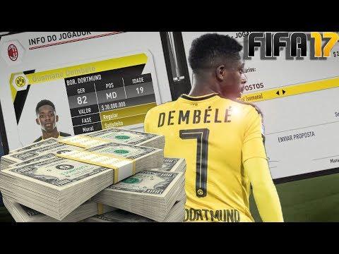 DEMBELE, O NOVO NEYMAR VALE 50 MILHÕES?? | FIFA 17 | Modo carreira Milan#16