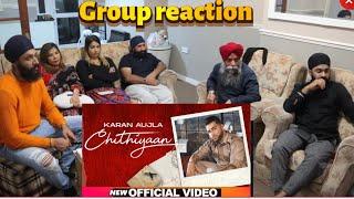 Chithiyaan | Karan Aujla | Official Video | REACTION