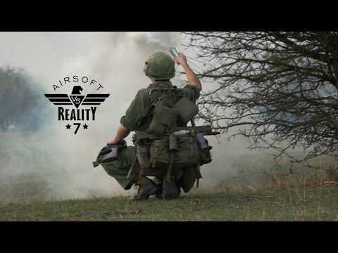 Behind the Airsoft vs Reality 7 + Our Airsoft Arsenal