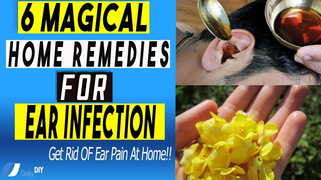 How To Get Rid Of An Ear Infection At Home