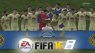 FIFA 16 - Temporadas Online - Duro partido por el Titulo (América Campeón )