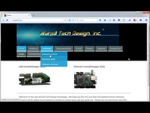 Installing Mach3 and the ESS Plugin