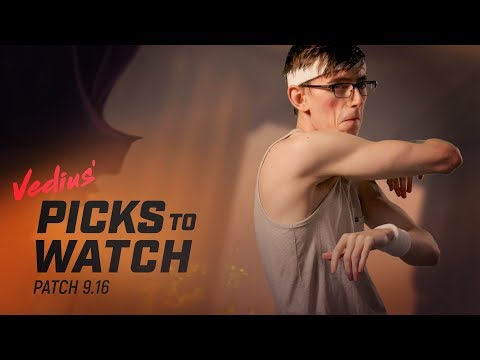 Patch 9.16 | Vedius' Picks to Watch