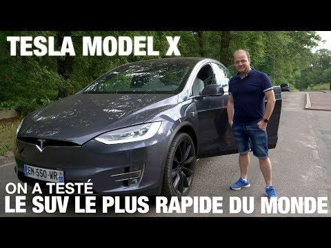 Tesla MODEL X : On a testé le SUV le plus rapide du monde !
