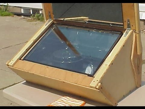 como hacer una cocina solar casera youtube