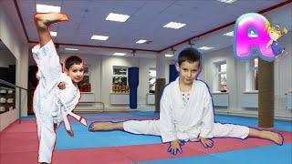 ВЛОГ: Первые Соревнования по карате.