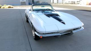 1964 Chevrolet Corvette Convertible 327ci 300hp 4spd for sale Scottsdale AZ