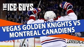 NHL Betting | Vegas Golden Knights vs Montreal Canadiens Preview & Free Picks | Ice Guys