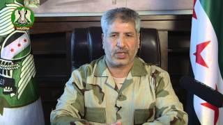 """كلمة العميد """"البشير"""" رئيس هيئة الأركان العامة للشعب السوري حول الانتخابات في سوريا"""