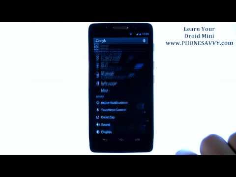 Motorola Droid Mini - How Do I Enable Software Update Tone