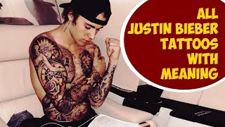 All Justin Bieber Tattoos With Meaning