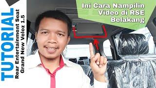 Rear Entertainment Seat Veloz 1.5 Toyota Indonesia