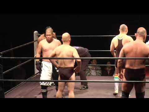 敗者髪切り7wayマッチ 2015年12月9日バトスカフェ新木場大会