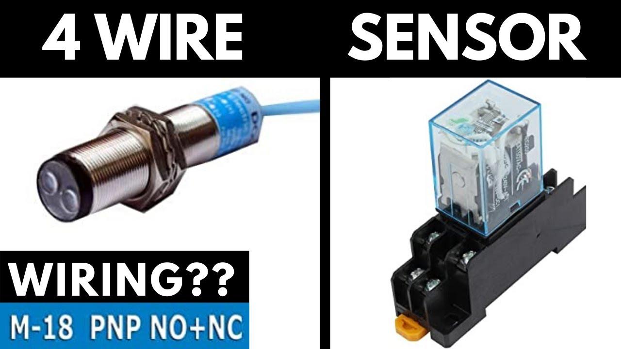 5 Wire Photoelectric Sensor Connection/Wiring II OMRON Sensor E3JK-Series -  YouTube | Omron Photoelectric Sensor Wiring Diagram |  | YouTube