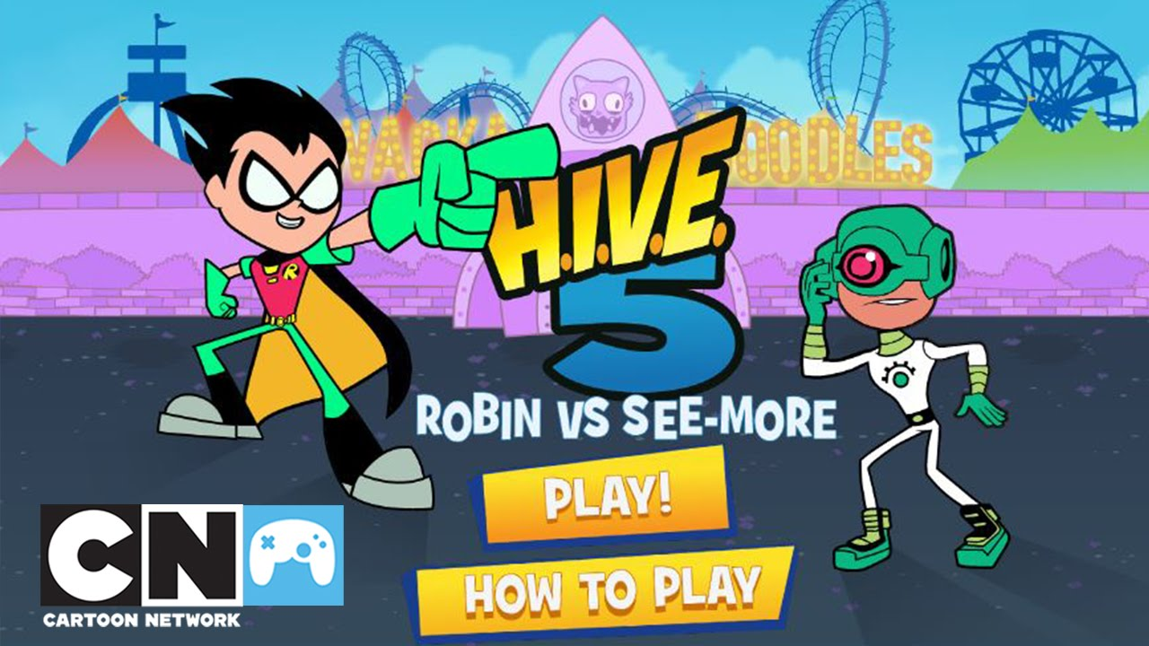 Teen titans go games robin vs see more cartoon for See more com