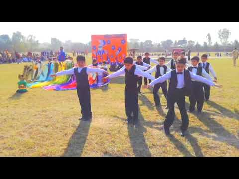 song (welcome one and all of you on the celebration) perform little boys in Multan Public School
