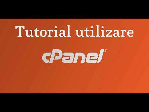 Prezentare Cpanel , explicam principalele functii ale Cpanel si cum se folosesc acestea