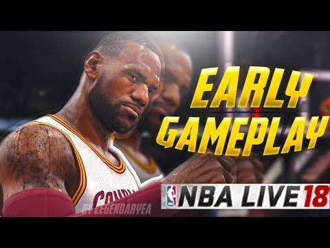 PLAYING NBA LIVE 18 CAREER MODE EARLY