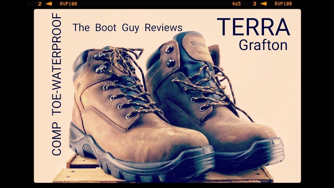 TERRA GRAFTON [ comptoe-waterproof ] [ The Boot Guy Reviews ]