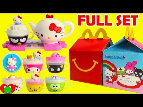 2017 Hello Sanrio McDonald's Happy Meal Toys Hello Kitty Full Set