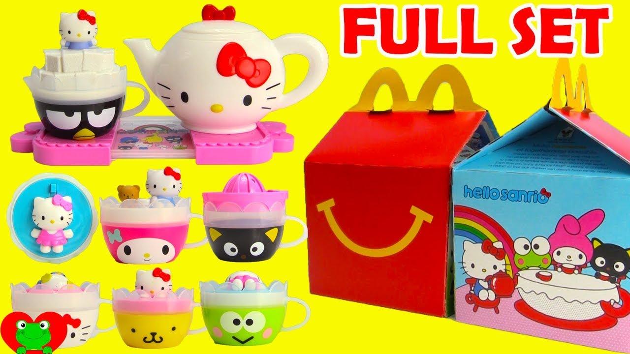 Hello Kitty Happy Meal Toys : Hello sanrio mcdonald s happy meal toys kitty