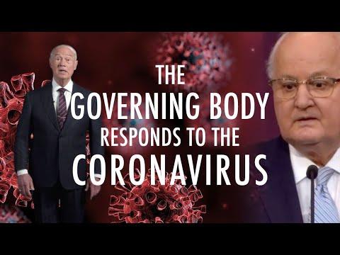 The Governing Body Responds To The Coronavirus