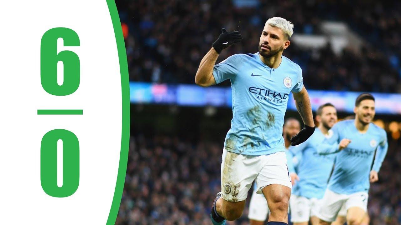 Manchester City vs Chelsea 6-0 | Premier League - EPL | 10 ...