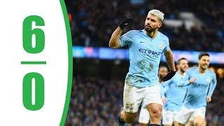 Manchester City vs Chelsea 6-0 | Premier League - EPL | 10.02.2019