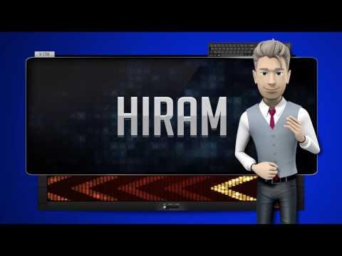 HIRAM - How to say it Backwards