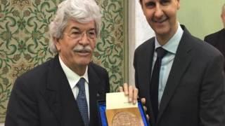 L'ignoranza di Breaking Italy e il selfie di Antonio Razzi con Bashar al-Assad.