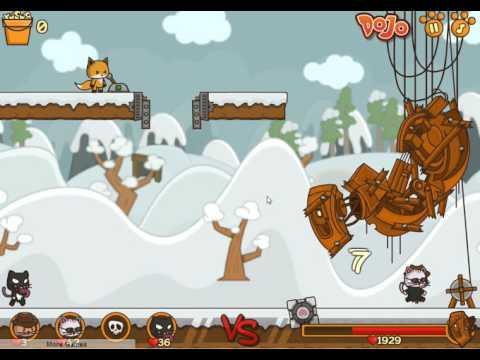 flash games StrikeForce Kitty 2 Коты Ударная сила 2 девятая серия