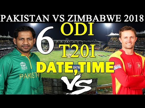 PAKISTAN VS ZIMBABWE COMPLETE SCHEDULE | PAK TOUR TO ZIM 2018 | PAK CRICKET TEAM NEXT SERIES thumbnail