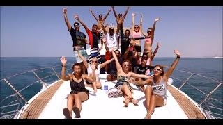 water sport party on Yacht with Day & Night Dubai