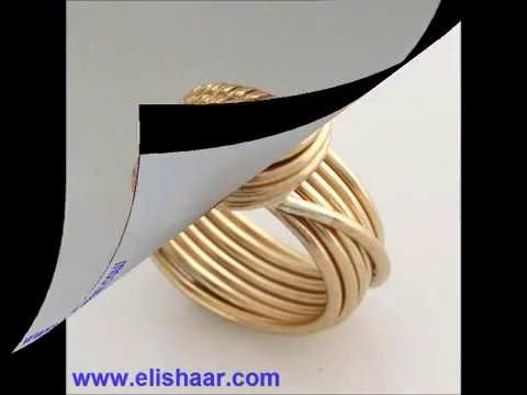 Eli Shaar handmade wire wrapped jewelry
