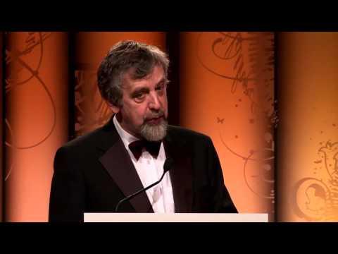 Michael Harding acceptance speech - winner of 2 awards in 2013