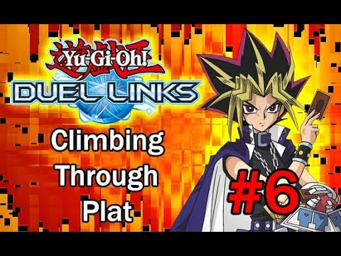 Yu-Gi-Oh! Duel Links | Climbing through Plat in Ranked PvP