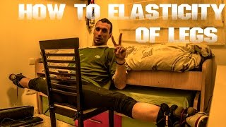 How to Breakdance Tutorial  Elasticity of Legs |