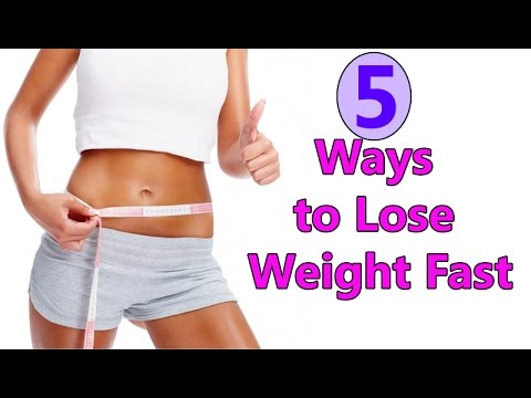 TOP 5 EASY TIPS TO LOSE WEIGHT FAST !!
