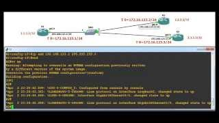 DMVPN and Routing protocl(OSPF & EIGRP)