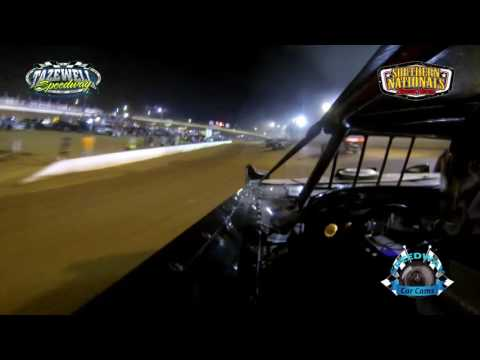 #54 Mitchell Burke - Super Late Model - 7-2-17 Tazewell Speedway - In-Car Camera