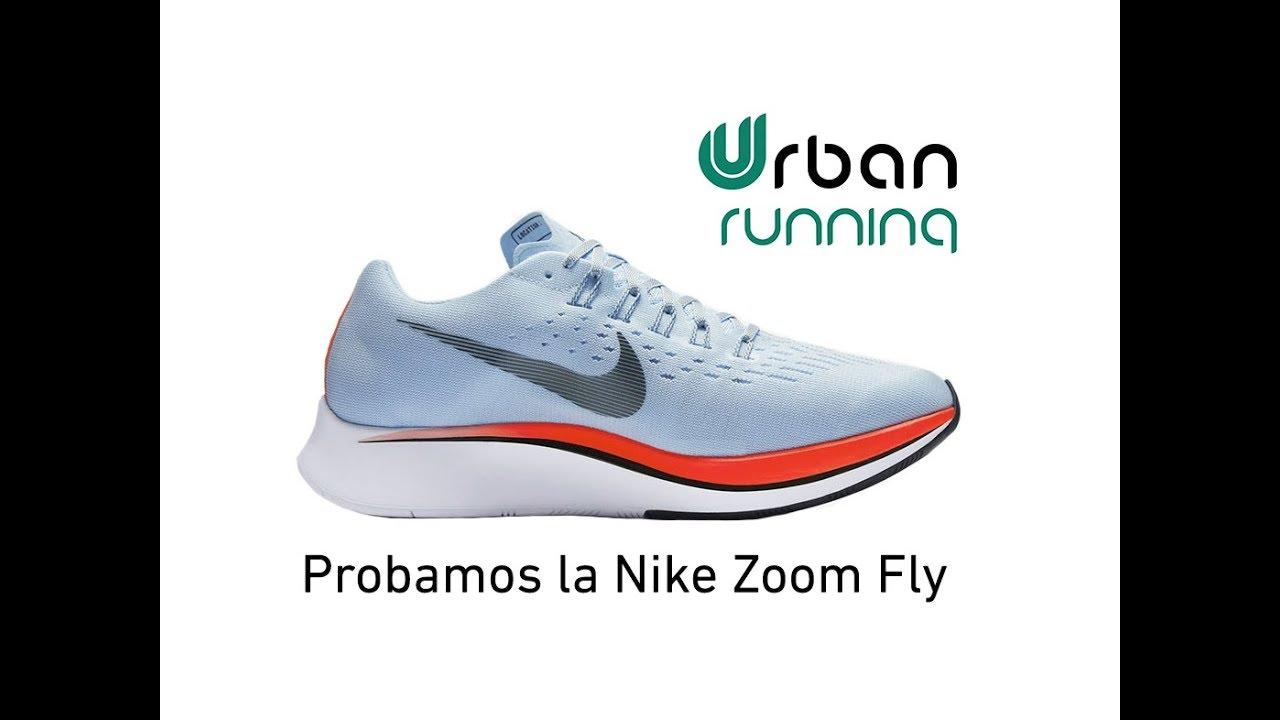 Análisis Nike Zoom Fly ¿Qué se siente al correr con ellas?