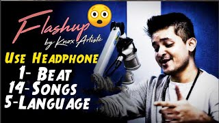 Flashup | Knox Artiste | 10D Audio Song | #14_SONGS_ON_1BEAT_5Language