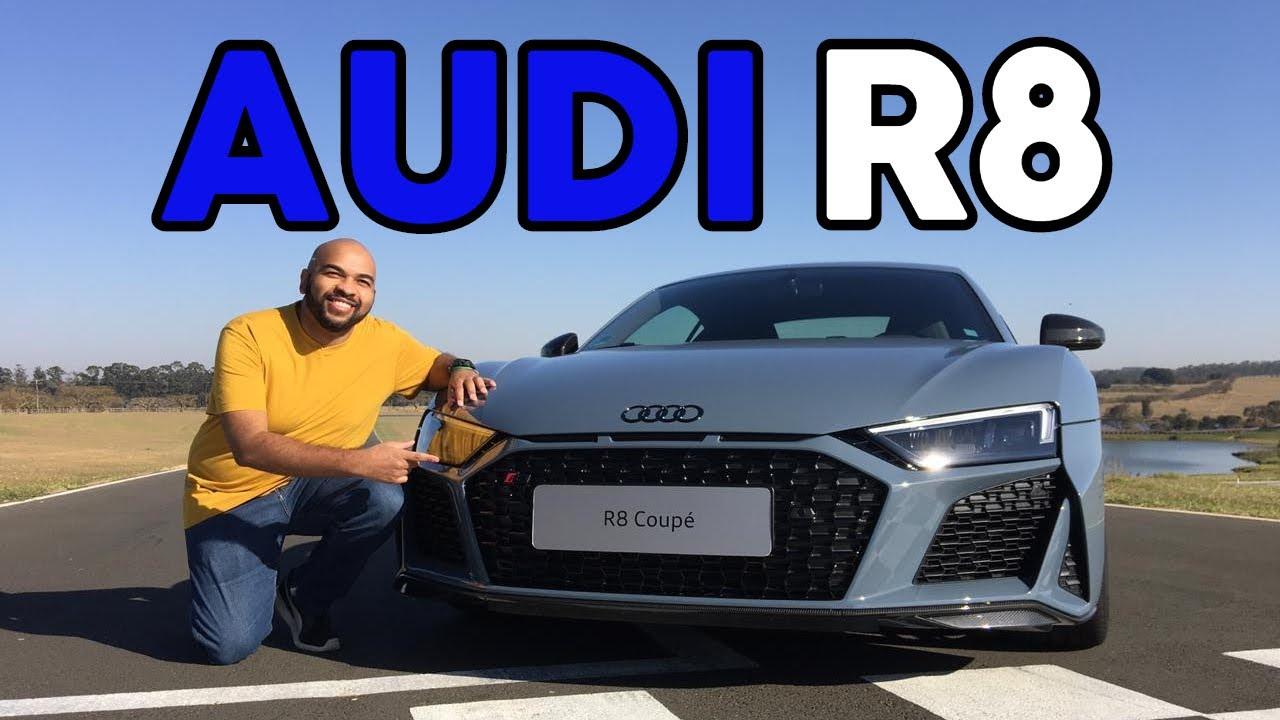 Aceleramos o novo Audi R8 V10 na pista
